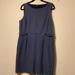 XL Tommy Hilfiger blue& white stripe dress